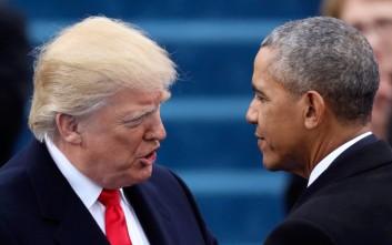 Ομπάμα: Σοβαρό λάθος η απόφαση Τραμπ για αποχώρηση από την πυρηνική συμφωνία