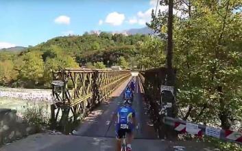 Μια ιδιαίτερη ποδηλατική διαδρομή στην Ήπειρο