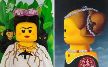 Διάσημες μορφές σε ζωγραφιές… LEGO