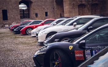 Ο άγριος ήχος των super cars αντήχησε στο πλακόστρωτο των Ιπποτών στη Ρόδο