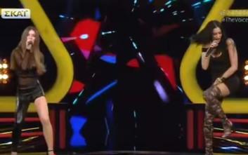 Δύο εκρηκτικές παρουσίες έβαλαν φωτιά στη σκηνή του «The Voice»