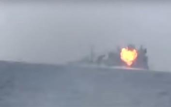 Πολεμικό πλοίο της Σαουδικής Αραβίας δέχθηκε επίθεση