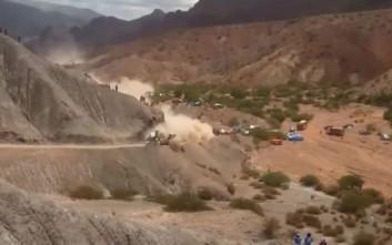 Σοβαρό ατύχημα στο Ράλι Ντακάρ