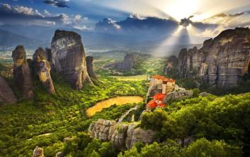 Το γυναικείο μοναστήρι μέσα στο πέτρινο δάσος των Μετεώρων