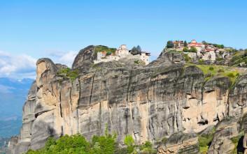 Το επιβλητικό μοναστήρι στο υψηλότερο σημείο των Μετεώρων