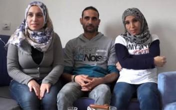Ο πρόσφυγας με τις δύο συζύγους και το πρόβλημά του στην Ευρώπη