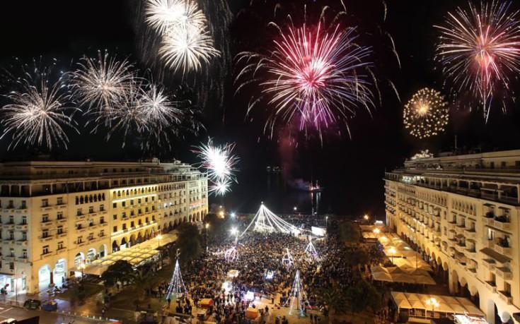 Αποτέλεσμα εικόνας για πυροτεχνηματα θεσσαλονικη 2017