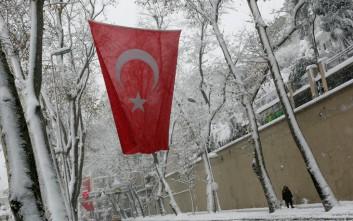 Το πολικό ψύχος παρέλυσε την Τουρκία