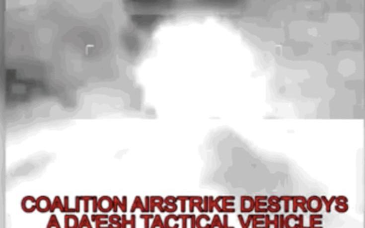 Εικόνες από τον βομβαρδισμό στόχων του ISIS στο Ιράκ