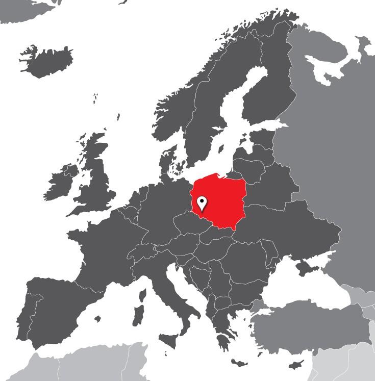Πολωνία χάρτης