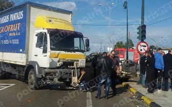 Τρεις νεκροί σε τροχαίο στην εθνική οδό Πατρών-Πύργου