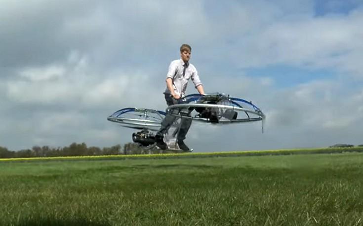Το πρώτο ιπτάμενο ποδήλατο είναι γεγονός