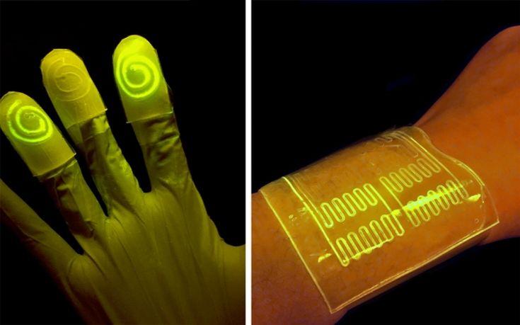 «Ευαίσθητα» γάντια λάμπουν στα τοξικά