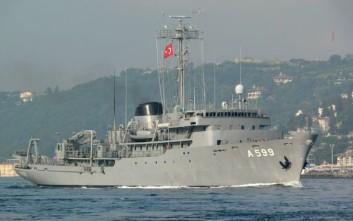 Οι Τούρκοι μάζεψαν «άρον-άρον» το «Τσεσμέ» πίσω στα Δαρδανέλια