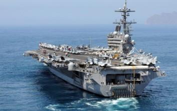 Στα Χανιά 6.000 Αμερικανοί με το αεροπλανοφόρο «Τζορτζ Μπους»