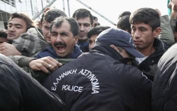 Τρίτη ημέρα επεισοδίων μεταξύ προσφύγων και μεταναστών στη Χίο