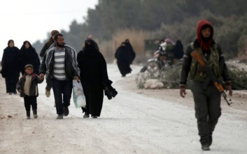 Σχεδόν 1.000 πρόσφυγες από τη Συρία επέστρεψαν στη χώρα τους