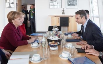 Süddeutsche Zeitung: Η δελεαστική προσφορά του Μητσοτάκη στη Μέρκελ
