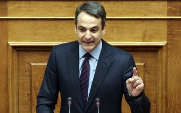 «Άστραψε και βρόντηξε» ο Μητσοτάκης κατά Τουρκίας και Καμμένου