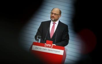 Παίρνει υπουργείο, αφήνει την προεδρία του SPD ο Μάρτιν Σουλτς