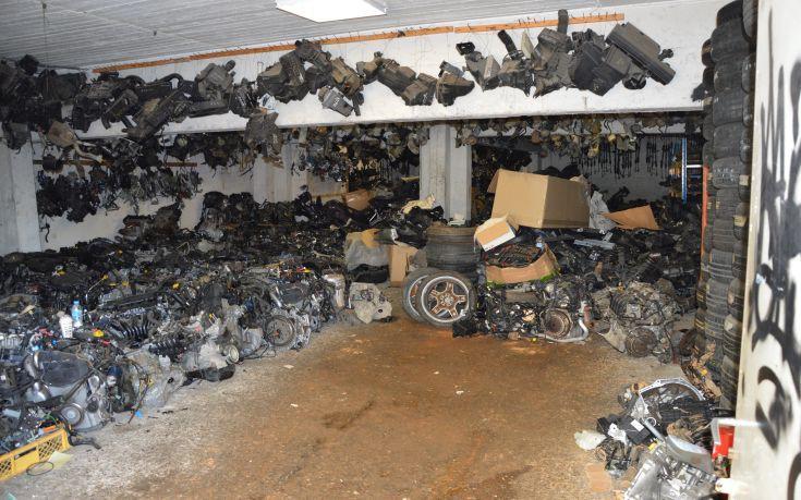 Εντοπίστηκε εργαστήριο παραποίησης οχημάτων στην Πάτρα