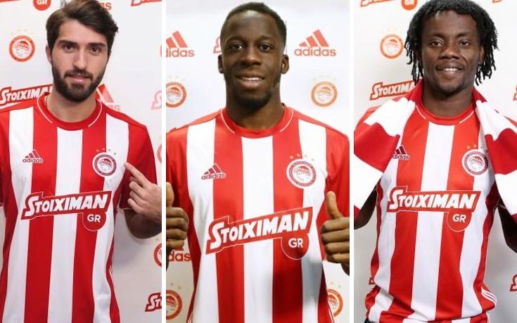Και οι τρεις νέοι του Ολυμπιακού στη λίστα της UEFA