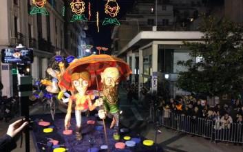 Τριάντα χιλιάδες καρναβαλιστές στους δρόμους της Πάτρας