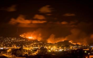Τεράστια φωτιά «καταπίνει» την τρίτη μεγαλύτερη πόλη της Νέας Ζηλανδίας