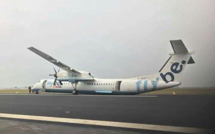 Ανώμαλη προσγείωση αεροσκάφους στο αεροδρόμιο του Άμστερνταμ