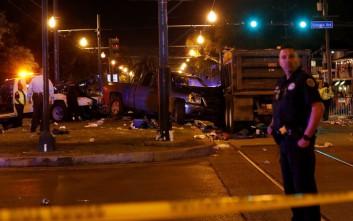 «Τρελό» φορτηγό με μεθυσμένο οδηγό έπεσε σε πλήθος κόσμου στο καρναβάλι