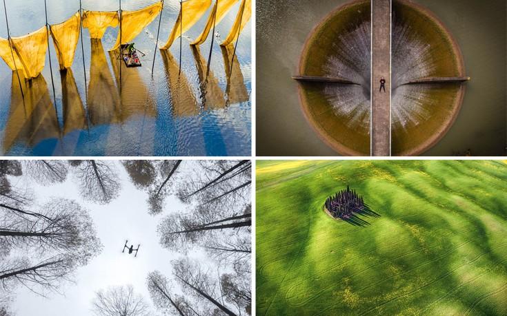 Εκπληκτικές εικόνες του κόσμου από ασυνήθιστη οπτική γωνία