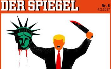 Υπερασπίζεται το εξώφυλλό του με τον Τραμπ το Der Spiegel