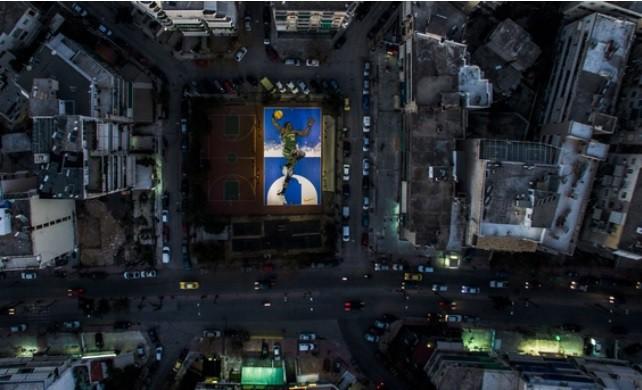 Εκπληκτικό graffiti για τον Αντετοκούνμπο στα Σεπόλια