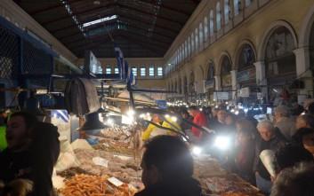 Ανοιχτή όλη τη νύχτα η Βαρβάκειος Αγορά