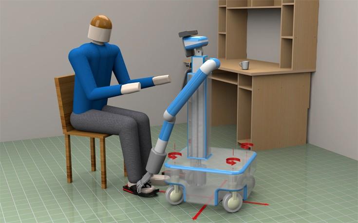 Ρομπότ-βοηθός για ηλικιωμένους με ήπια νοητική διαταραχή