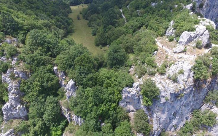 Ένα drone στην υπηρεσία των γεωλόγων