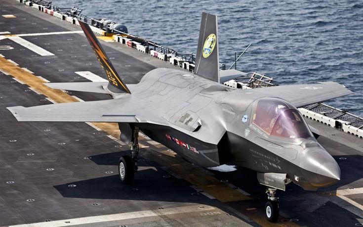 Πήρε τελικά το πρώτο F-35 από τις ΗΠΑ η Τουρκία