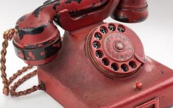 Το κόκκινο τηλέφωνο του Χίτλερ πωλήθηκε για 243.000 δολάρια