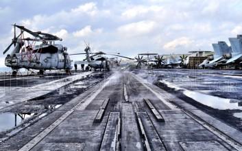 Το newsbeast.gr ανέβηκε στο νεότερο αεροπλανοφόρο του αμερικανικού ναυτικού