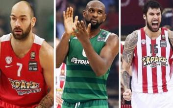 Σπανούλης, Πρίντεζης και Σίνγκλετον υποψήφιοι MVP της Euroleague