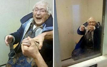 Όνειρο ζωής για μια 99χρονη… το κελί της φυλακής