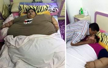 Η πιο παχύσαρκη γυναίκα στον κόσμο στο ταξίδι της ζωής της