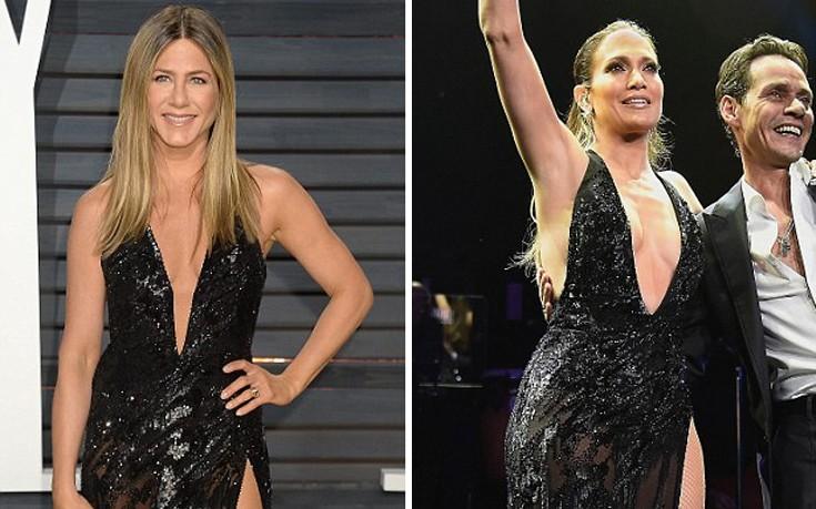 Δύο Jennifer με το ίδιο φόρεμα