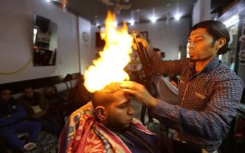 Το πιο «καυτό» κούρεμα στη Γάζα