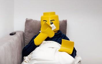 Ένας LEGOman και η καθημερινότητά του