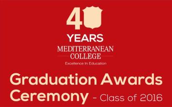 Η 37η τελετή αποφοίτησης του Mediterranean College