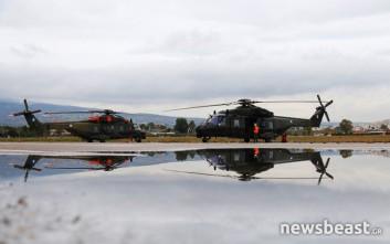 Τα ελικόπτερα της Αεροπορίας Στρατού που σώζουν ζωές και ετοιμάζονται για πολεμικές αποστολές