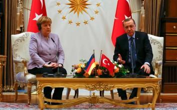 Η φράση της Μέρκελ που προκάλεσε την αντίδραση του Ερντογάν