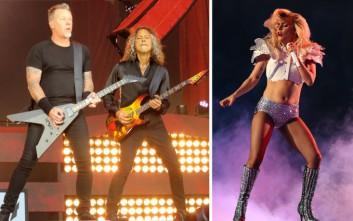 Metallica και… Lady Gaga μαζί στη σκηνή