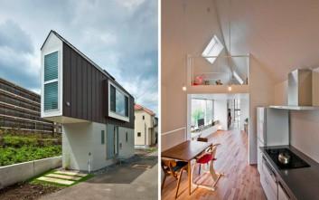 Ένα σπίτι μικρό στο μάτι αλλά… μεγάλο στο εσωτερικό